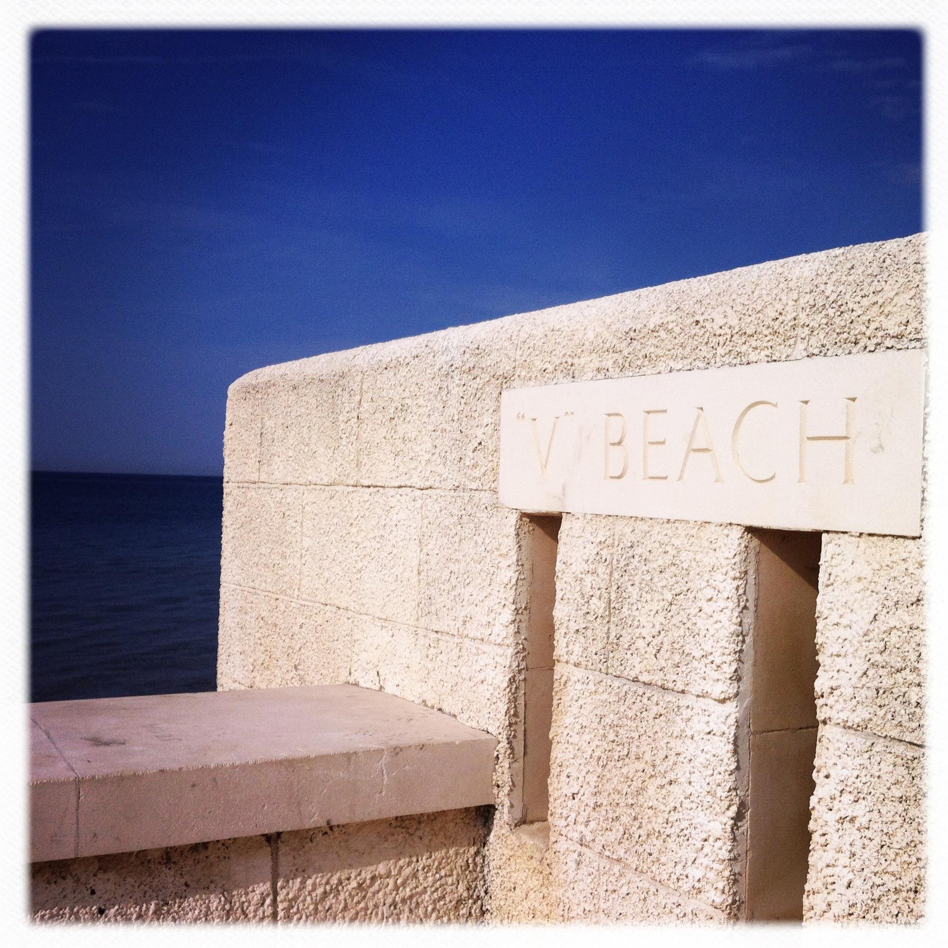 Il cimitero di V beach