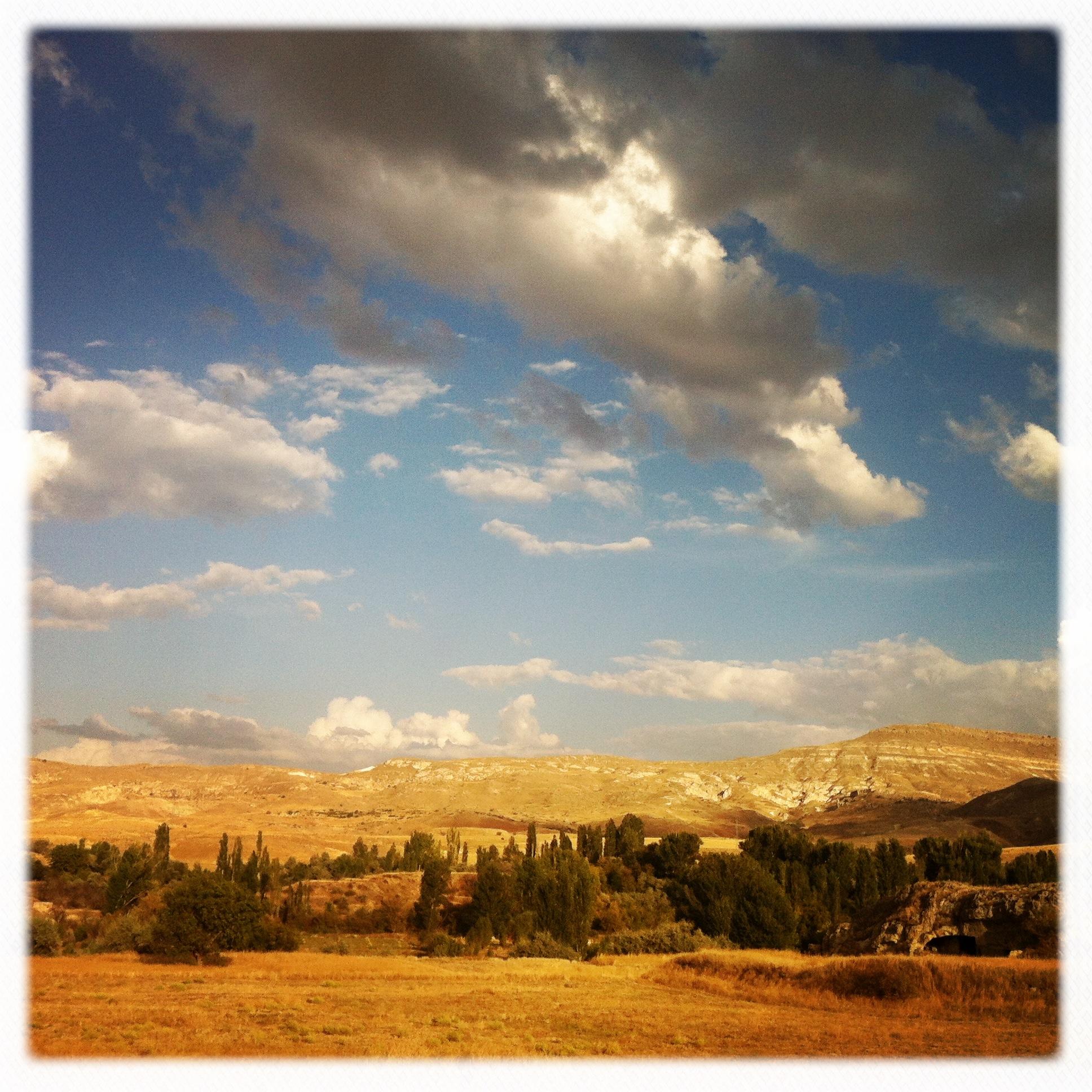Paesaggio della Cappadocia