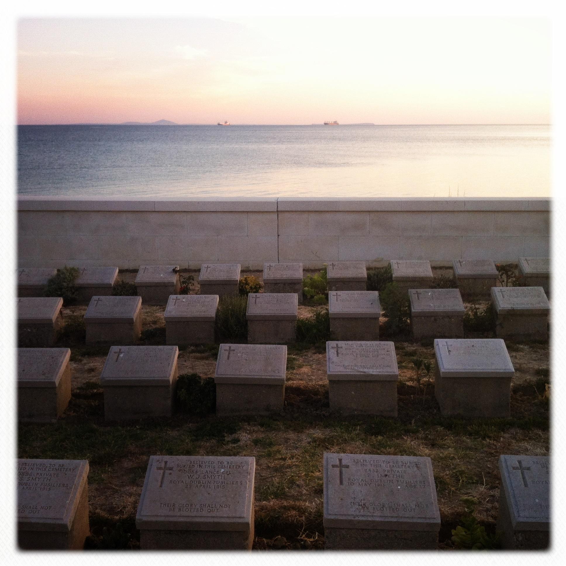Il cimitero sul mare