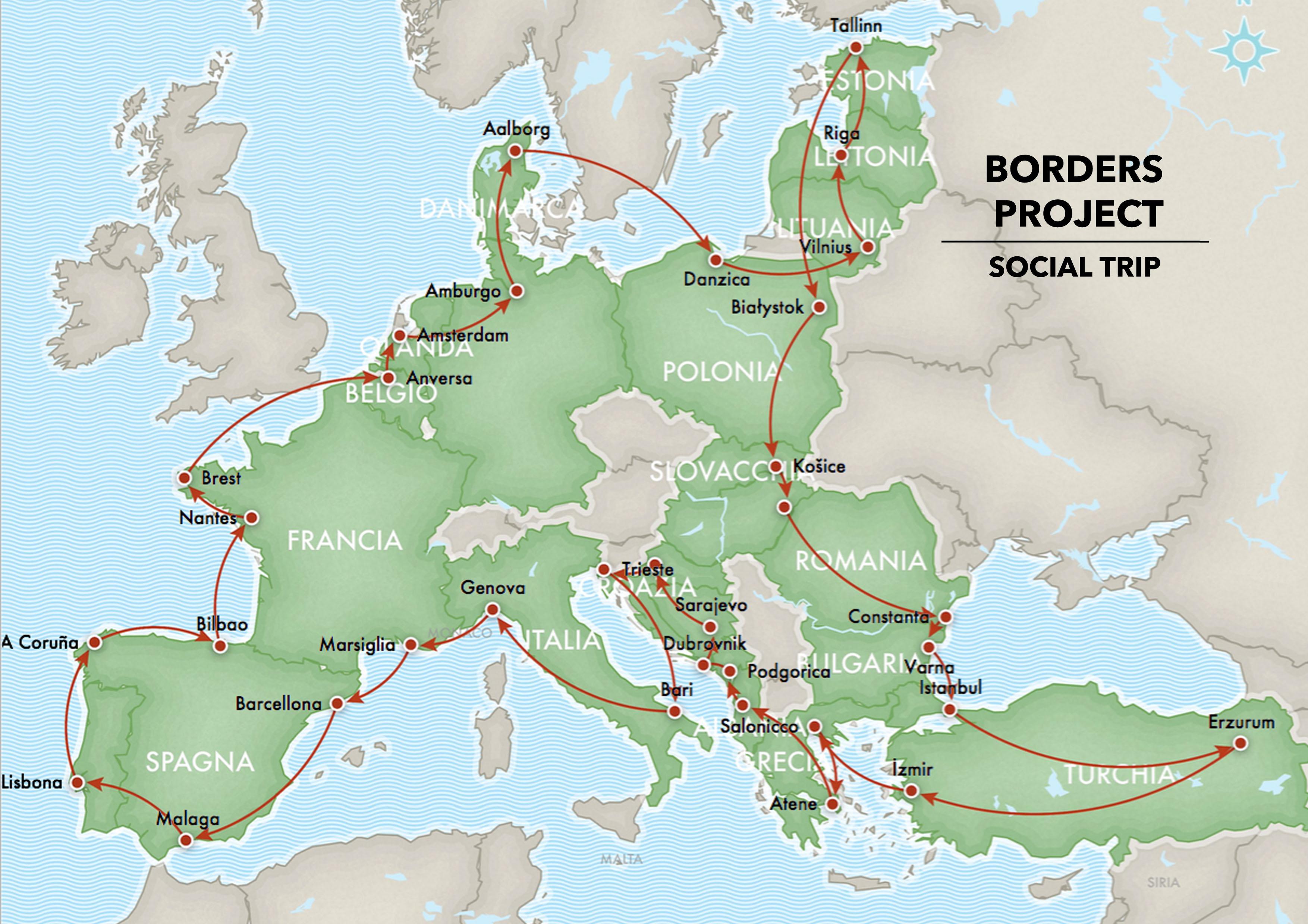 mappa social trip